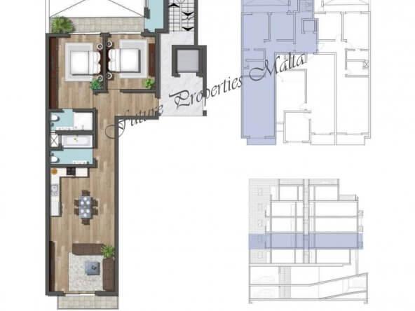Apartment A3 1st floor