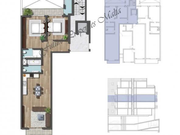 Apartment A6 Second floor