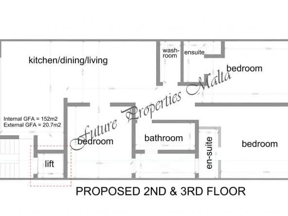 2 - 3 floor